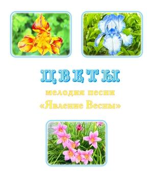 """Мелодия песни """"ЯВЛЕНИЕ ВЕСНЫ. ЦВЕТЫ"""", вариант 1. CD"""